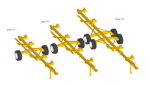 Тележка для транспортировки жаток Helianthus 7500